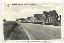 1 postkaart Wenduine ringlaan
