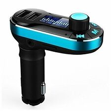 Bluetooth Fm Transmitter Hands free Car Kit Radio Adapter Mp3 Player Dual Usb
