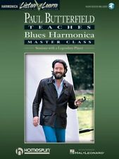 Paul Butterfield Blues Harmonica Master Class - Book and Audio Guitar 000699089