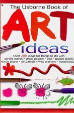Usborne Book of Art Ideas  List $19  HC  BRAND NEW