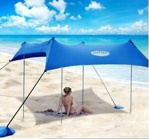 Beach Pop Up Sun Shade/Shelter (Blue) 10' x 9'