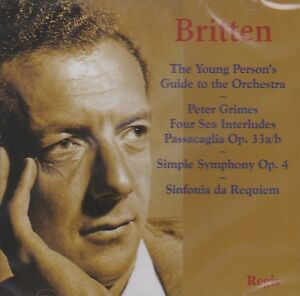 BRITTEN: THE YOUNG PERSON'S GUIDE TO THE ORCHESTRA (CD)