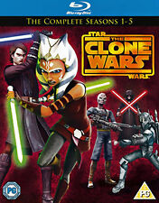 Star Wars - The Clone Wars: Seasons 1-5 Blu-ray (2013) George Lucas ***NEW***