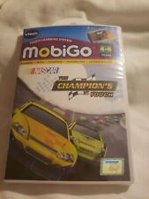 Vtech MobiGo Nascar The Champions Touch Learning Game 4-6yrs New