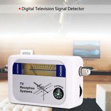 DVB-T Finder Digital Aerial Terrestrial TV Antenna Signal Strength Meter White T