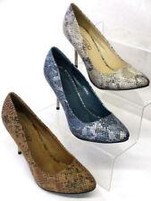 Calzado de mujer zapatos de salón de color principal azul sintético