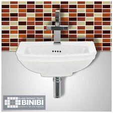 BRICK Rectangular Glass Mosaic Tiles Bathrooms Kitchens Wall Floors SALE! 4B-103
