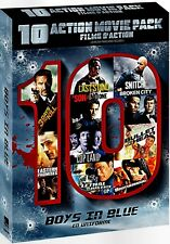 NEW 10DVD set- BOYS IN BLUE ACTION MULTI-PACK - SEAGAL , STALLONE ,SCHWARZENEGGE