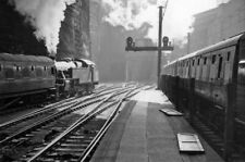 PHOTO  LANCASHIRE  THE EXIT FROM LIVERPOOL LIME STREET IN TUNNELS AND CUTTINGS U