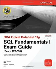 OCA Oracle Database 11g SQL Fundamen... by Ramklass, Roopesh Mixed media product