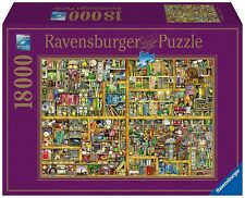 NEW Ravensburger Magical Bookcase Jigsaw Puzzle 18000 Piece Colin Thompson 17825