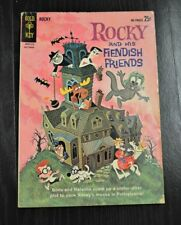 Rocky And His Fiendish Friends #1 Gold Key 1962 Oct 1962 Classic Silver Age VG/F