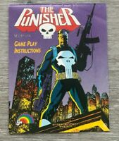 The Punisher Nintendo Entertainment System NES Instruction Manual Only