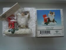 Charming Tails Cotton Claus Mackenzie Mouse, Fitz & Floyd New In Box 98/222