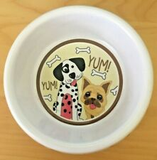 Decorative Melamine Dog Bowl Small dog