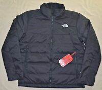 TNF New Medium M Mens THE NORTH FACE GateBreak puffer down SKI jacket coat Black
