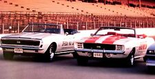 """1993 1982 1969 1967 Chevy Camaro & Z28 Indy 500 Pace Car Poster 22 X 17"""" SS 396"""