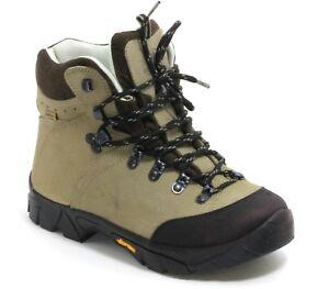 Y Schuhe Wanderschuhe Trekking Hiking Schnürschuhe Outdoor Adventuridge Creme 37