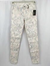 Buffalo David Bitton Gena Jeans Womens Size 25 x 29 skinny shimmer snake NEW