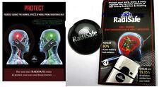10x Quantum Escudo etiqueta engomada Anti radiación para los teléfonos móviles Radi seguro radisafe