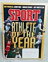 Sport Magazine January 1995 Emmitt Smith Athlete Of The Year Cowboys