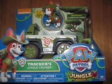 Paw Patrol Jungle Rescue TRACKER's JUNGLE CRUISER Spin Master Nickelodeon NEW