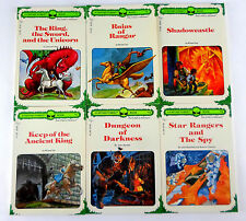 Lot of 6 Fantasy Forest Dungeons and Dragons Pick a Path Gamebooks CYOA
