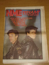 NME 1983 JUN 18 WHAM BOW WOW THE RESIDENTS MARI WILSON