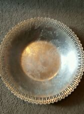 Vintage Hand Forged Aluminum Hammered Bowl Metalware Resembles Forged Everlast