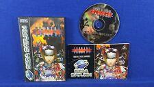 Sega Saturn BURNING RANGERS *x Boxed COMPLETE PAL UK