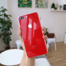 Pure Color Glossy 3D Tempered Glass Back Cover Protector for iPhone X 6S 7 7P 8