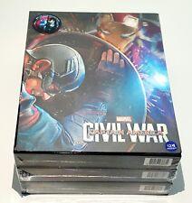 CAPTAIN AMERICA : CIVIL WAR [3D] Blu-ray STEELBOOK 1-CLICK SET [WeET COLLECTION]