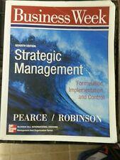 Strategic Management: Formulation, Implementation and Control 9780071167123