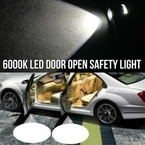 2x LED Car Door Step Courtesy Welcome Light Shadow Puddle Emblem K1 For Scion