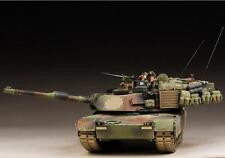Award Winner Built Tamiya 1:35 M1A1 /A2 Abrams MBT +Figures/Dog/Accessories