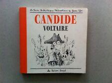 CANDIDE –VOLTAIRE – LES EDITIONS BREAL Joann Sfar FRANCESE