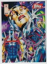 1993 Valiant Comics Valiant Cards -Topps DEATHMATE PROMO card.