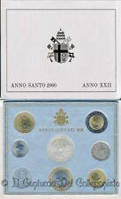2000 Vaticano Serie divisionale FDC Papa Giovanni Paolo II 1000 Lire argento