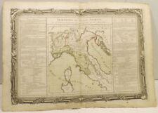 Künstlerische Grafiken & Drucke mit Landkarten aus Italien