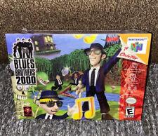 Blues Brothers 2000 BRAND NEW SEALED! RARE TITUS V-SEAM N64 (2000) Nintendo 64
