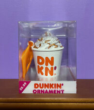 Dunkin Donuts Latte Cup 2020 Coffee Ornament New