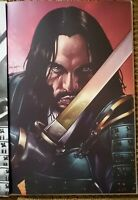 BRZRKR 1 VIRGIN VARIANT MICO SUAYAN KEANU REEVES BOOM 2021NM+ ONLY 500 W/COA