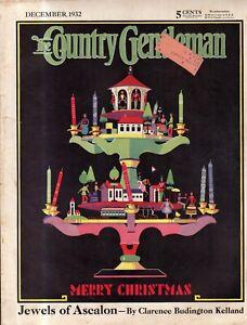 1932 Country Gentleman December - Jew-boy's Christmas; Rose O'Neill; Cheap land