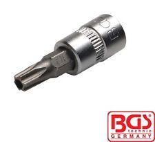 """BGS Tools 1/4"""" Bit Socket 6 Star Torx T-Star Tamperproof T30 2362"""
