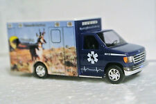 Busch 41843 Ford Ambulance Wyoming Medical Center Photo Finish Antelope C9 NIB