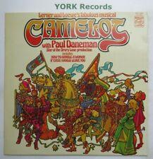 CAMELOT - Cast Recording PAUL DANEMAN - Excellent Condition LP Record  MFP 50368
