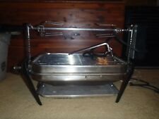 2 Vintage Farberware Open Hearth Indoor Electric Rotisserie Grills Tested
