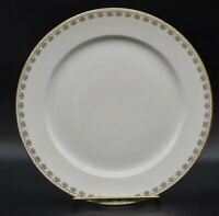 Chas Field Haviland CFH GDA Limoges CHF488 Pink Floral Border Dinner Plate 9-3/4
