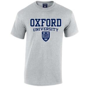 Oxford University Crest T-Shirt - Official Merchandise 100% Cotton Lightweight