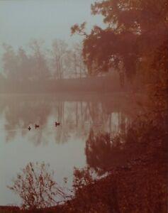 Brenda James 1981 signed, framed, photograph, Silver Lake Ohio 11x14